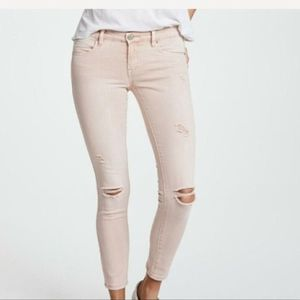 Blank NYC Intro Distressed Skinny Ankle Jeans